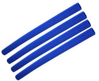 44-inch Trampoline Enclosure Foam Sleeves (BLUE)
