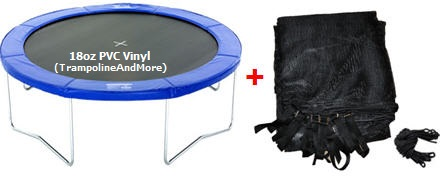 14-ft Trampoline Pad -and- Trampoline Netting  *SET*