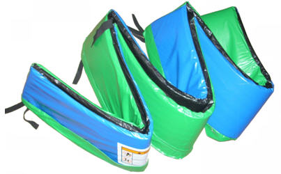 14-ft  Deluxe Blue/Green Trampoline Pad